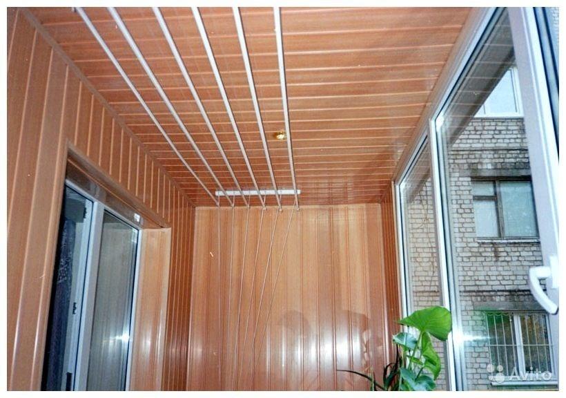 Гарант - обшивка балконов и лоджий - примеры работ.